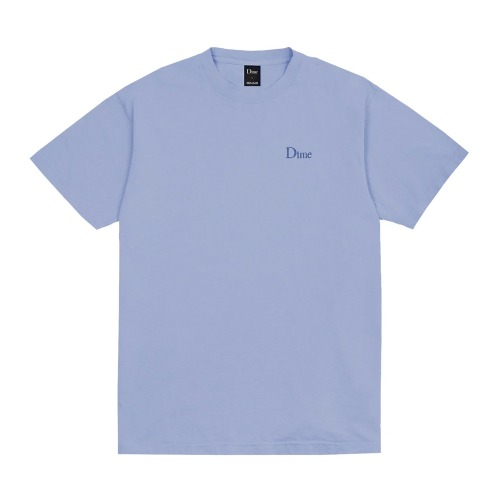 DIME CLASSIC EMBROIDERED T-SHIRT LIGHT BLUE