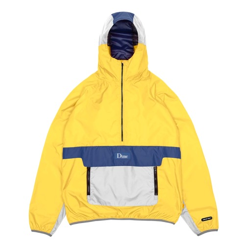 DIME RIPSTOP PULLOVER YELLOW