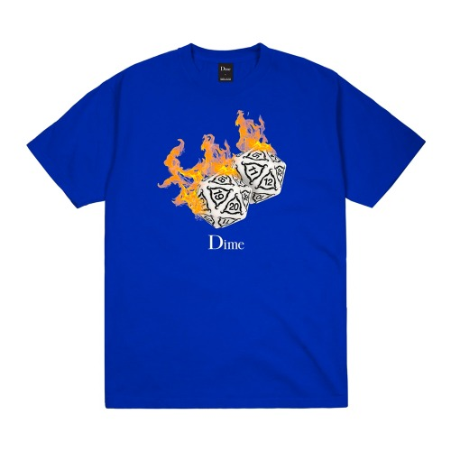 RE-ROLL T-SHIRT COBALT