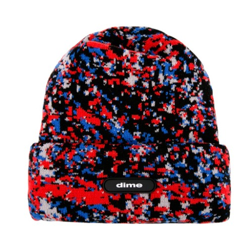SPECKLE BEANIE - RED