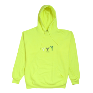 3 Plants Hoodie - Safety Green