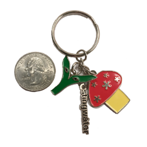 Groe Together Key Chain
