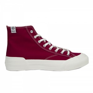 HUF X MOONSTAR CLASSIC HI JPN - DEEP RED