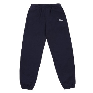 DIME CLASSIC EMBROIDERED SWEATPANTS - NAVY