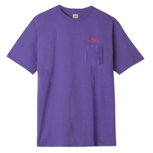 ISSUE LOGO S/S POCKET TEE - ULTRA VIOLET