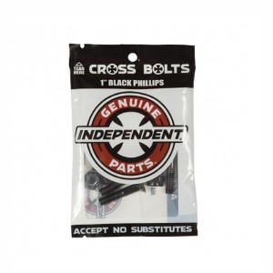 "INDEPENDENT HARDWARE BLACK 1"" PHILLIPS"