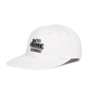 THE DIME EXPERIENCE CAP WHITE