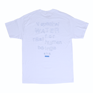V SPESHAL WATER T-SHIRT WHITE