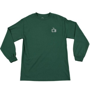 TV L/S TEE FOREST GREEN