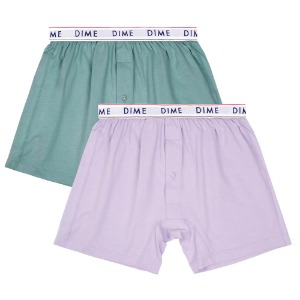 DIME LOOSE FIT BOXERS (2PACK)