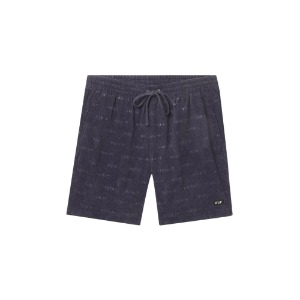FUCK IT CORDUROY EASY SHORT DARK NAVY