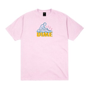 RELIEF T-SHIRT LIGHT PINK