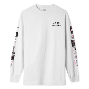 PITSTOP L/S TEE WHITE