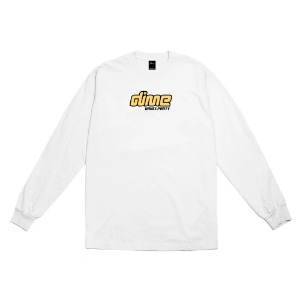 DIME DANCE PARTY L/S T-SHIRT WHITE