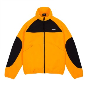 POLAR FLEECE TRACK JACKET GOLD/BLACK
