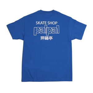 SKATESHOP PALPAL AGJ TEE - ROYAL