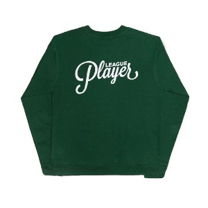 REVERSE LOGO CREW FOREST GREEN