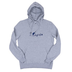 BONKERS HEIDI HOODIE HEATHER GREY