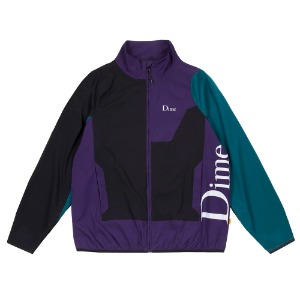 DIME RANGE JACKET BLACK/TEAL