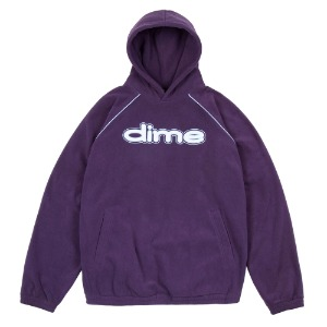 FLEECE HOODIE PURPLE