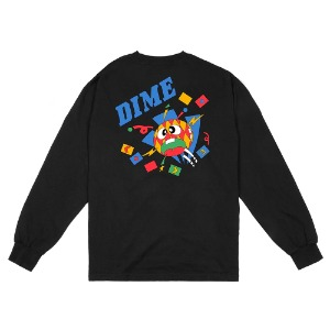 BREAKER LONGSLEEVE SHIRT BLACK