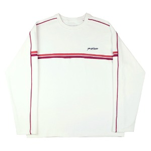 PACIFIC RIBBED CREWNECK OFF WHITE
