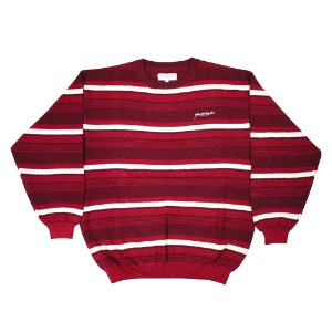 MIRAGE CREWNECK BURGUNDY