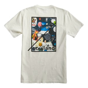SOULLAND COLLAGE S/S T-SHIRT