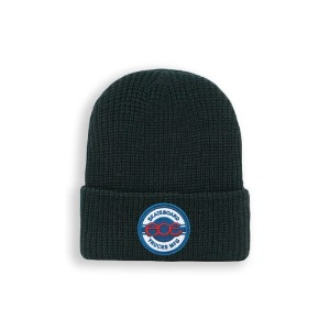 ACE SEAL LOGO BEANIE BLACK