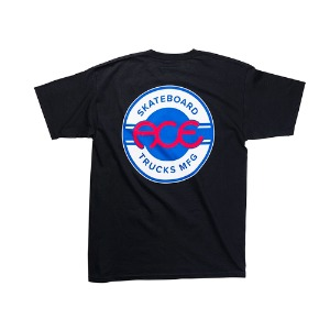 ACE SEAL LOGO T-SHIRT BLACK