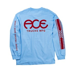 ACE RETRO JERSEY LONGSLEEVE POWDER BLUE