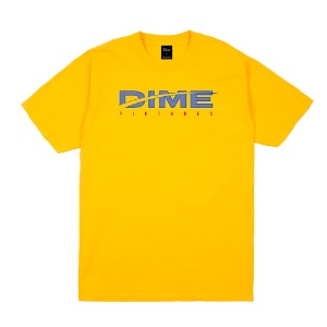 DIME PICTURES T-SHIRT GOLD