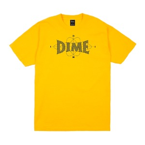 DIME ZONE T-SHIRT GOLD