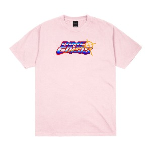 DIME CRISIS T-SHIRT LIGHT PINK
