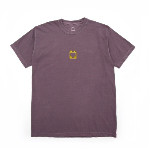 CENTER LOGO TEE WINE