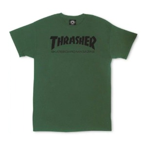 SKATE MAG T-SHIRT ARMY GREEN