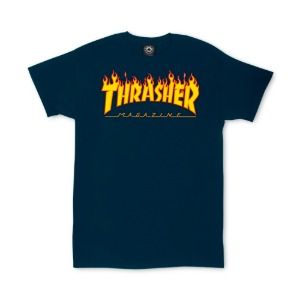 FLAME T-SHIRT NAVY
