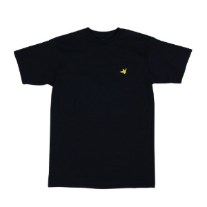 OG BIRD EMB S/S BLACK