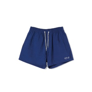 SEERSUCKER SWIM PANTS BLUE
