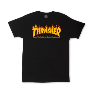 FLAME T-SHIRT BLACK