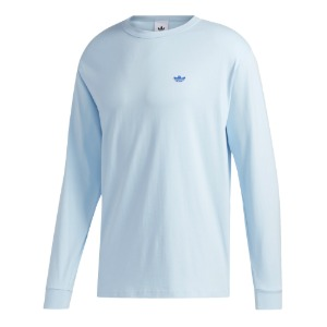 H SHMOO L/S TEE ICE BLUE/ROYAL BLUE