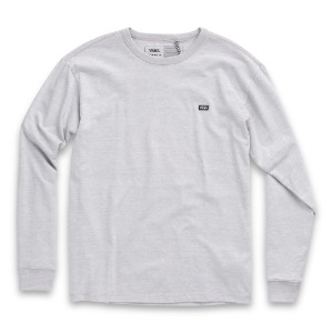 OFF THE WALL CLASSIC L/S TEE HEATHER GREY