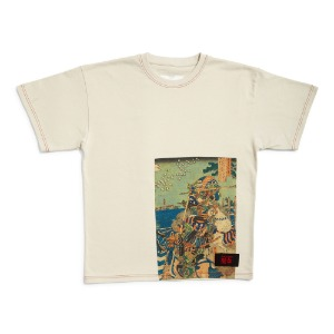 RASSVET X PUSHKIN MEN'S T-SHIRT BEIGE
