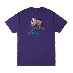 TV T-SHIRT PURPLE