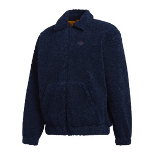 FLEECE TRACK TOP NAVY