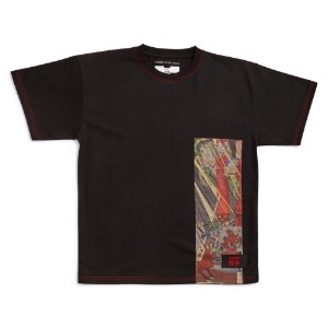 RASSVET X PUSHKIN MEN'S T-SHIRT BLACK