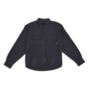 MEN'S SHIRT NAVY CHECKS