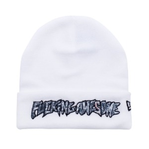 ACTUAL VISUAL GUIDANCE NEW ERA BEANIE WHITE