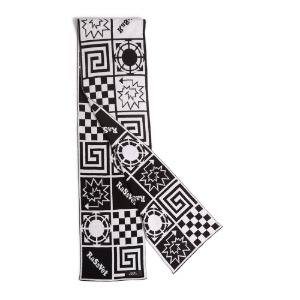 MEN'S SCARF WHITE