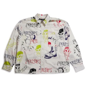 MEN'S PRINTED LONG SLEEVES SHIRT